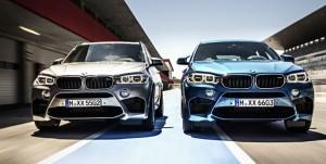 Prestance imposante : la nouvelle BMW X5 M et la nouvelle BMW X6 M