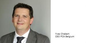 Nomination de M. Yann Chabert en tant que CEO de FCA Belgium à partir du 17 mai 2016