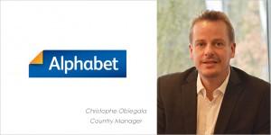 Christophe Obiegala est nommé Country Manager d'Alphabet