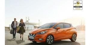 Pluie d'étoiles pour la nouvelle Nissan Micra aux crash-tests Euro NCAP