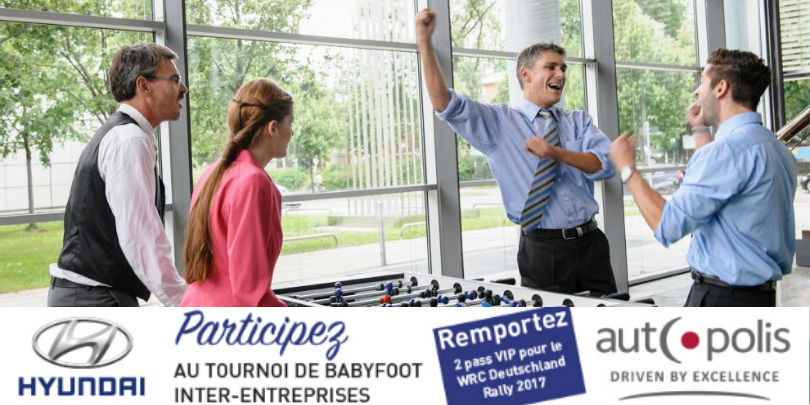 baby foot inter entreprise