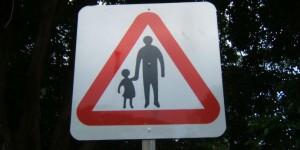 Automobilistes, attention : enfants sur le chemin de l'école !