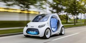 Concept autonome vision intelligente EQ fortwo: Bienvenue dans l'avenir du car sharing