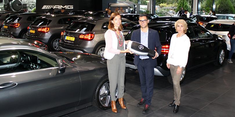 mercedes-benz luxembourg livrent 230 véhicules mercedes à pwc
