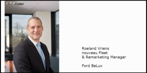 Roeland Vriens, nouveau Fleet & Remarketing Manager Ford BeLux