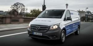 Bientôt une motorisation électrique pour tous les modèles de Mercedes-Benz Vans