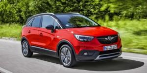 Cinq étoiles Euro NCAP pour l'Opel Crossland X