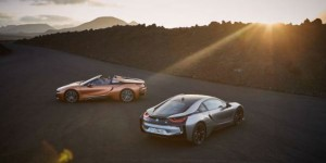 La nouvelle BMW i8 Roadster et la nouvelle BMW i8 Coupé.