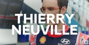 Thierry Neuville reçoit sa nouvelle voiture de fonction
