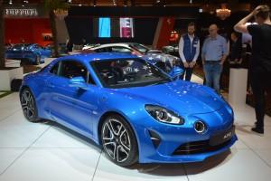 Alpine A110 remporte l'élection de la plus belle voiture de l'année 2017