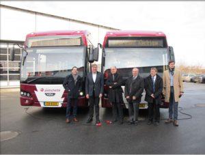 François Bausch a inauguré la première ligne de bus RGTR entièrement électrique