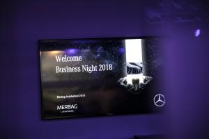 Une nouvelle Business Night pour Mercedes-Benz !