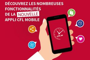 Se déplacer du bout des doigts avec l'application CFL mobile!