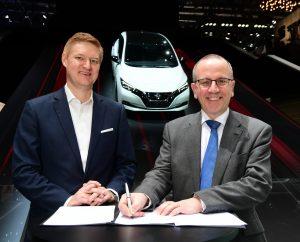 L'accélération de l'électrification: Nissan devance l'écosystème électrique innovant
