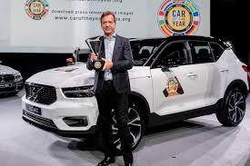 Le nouveau Volvo XC40 élu Voiture de l'année 2018