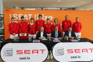SEAT Luxembourg signe un contrat avec la FLT