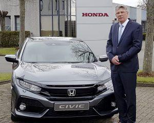 Hans De Jaeger nommé Branch Director de Honda Benelux