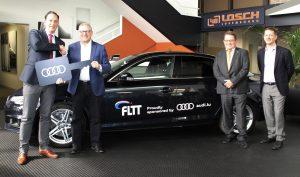 Audi Luxembourg est le nouveau partenaire de la FLTT