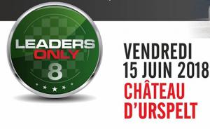 La 8ème édition de Leaders Only au Château d'Urspelt