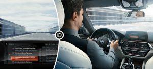 Des voitures BMW équipées d'Office 365 à partir du mois de juillet.