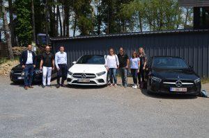 Retour en image sur le Test Drive de la Nouvelle Mercedes-Benz Classe A de MERBAG