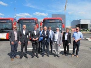 Un nouveau dépôt et des nouveaux autobus électriques pour Voyage Ecker