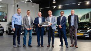 CTG prend livraison de 10 nouvelles Mercedes GLA