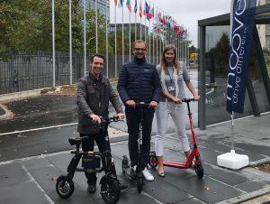 Semaine de la mobilité: Des vélos et trottinettes électriques en test à la Cour des Comptes