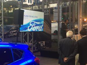 Ford partageait hier chez Pirsch sa vision de la ville du futur