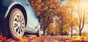La campagne de l'éclairage et du pneu