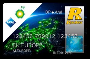 La carte des pros, c'est la BP + Aral Routex Card Luxembourg