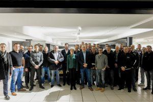 Autopolis livre 30 Volvo XC40 à la société A Muller & Fils en partenariat avec Arval