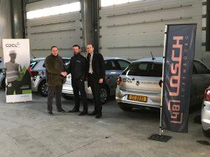 Le garage LOSCH Junglinster livre une dizaine de Volkswagen Polo à son client CDCL